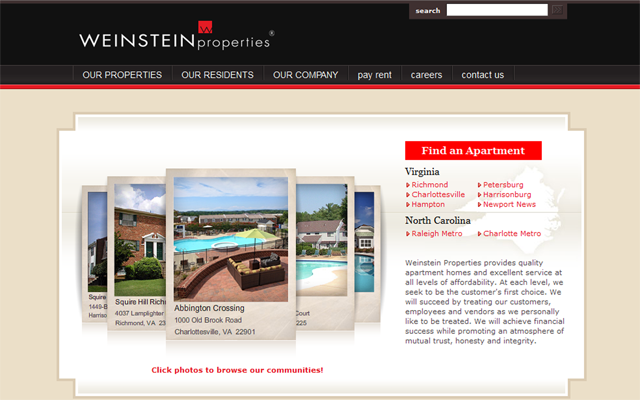 欣赏一下国外房地产网站设计的25个优秀范例