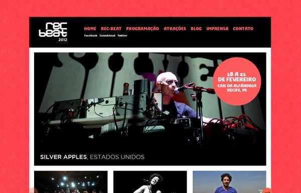 优秀网站设计作品欣赏(一):音乐主题网站