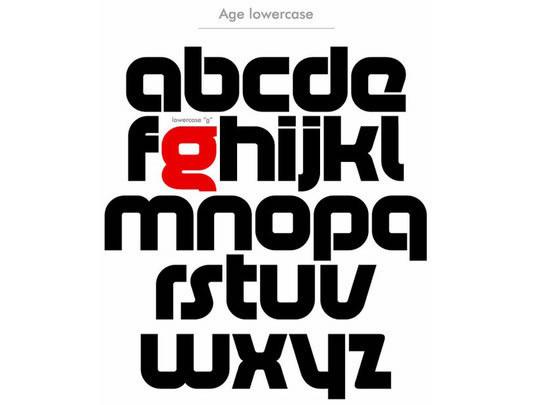 南京网站建设:40款为网站设计师准备的时尚字体